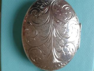 1920's Silver Locket
