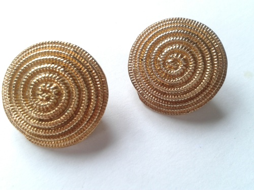 Super Spirals - Elegant Clip on Earrings