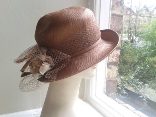 RARE Vintage Straw Hat