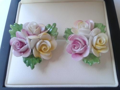 Pretty Porcelain Earrings